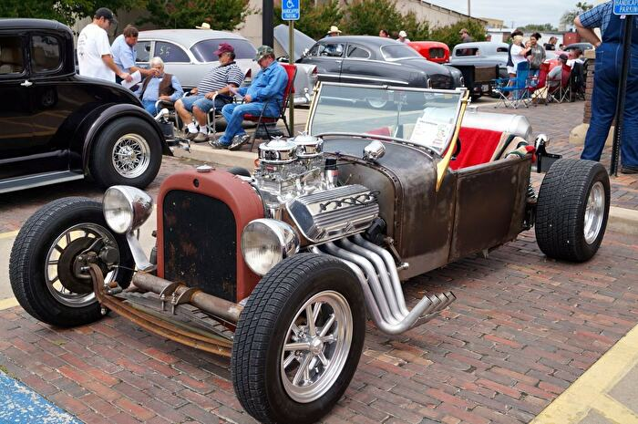 Blue River Car Club Show Ardmore Oklahoma