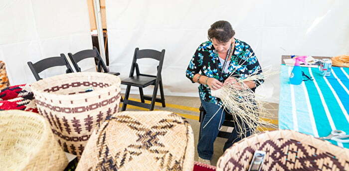 Basket Weaving Chickasaw Festival