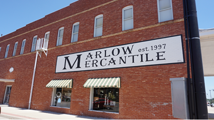 Marlow Mercantile shop