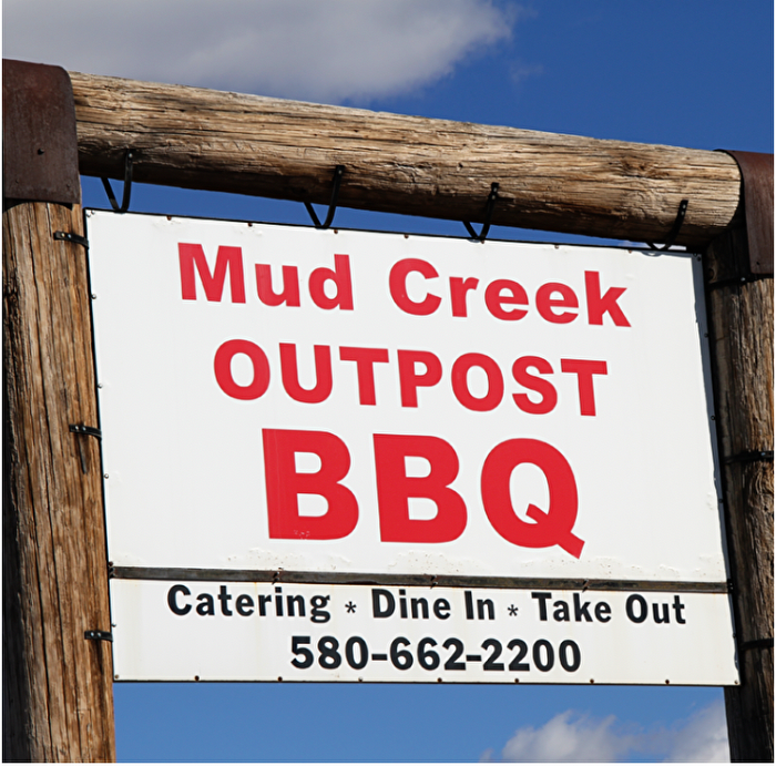 Mud Creek Outpost BBQ barbecue