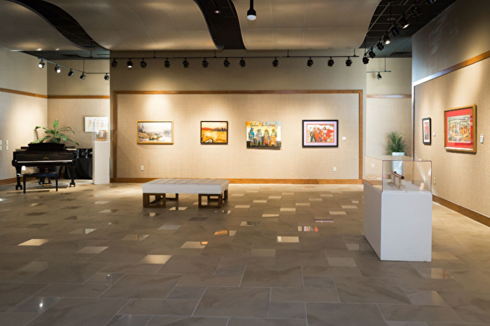 Art gallery in Chickasaw Country