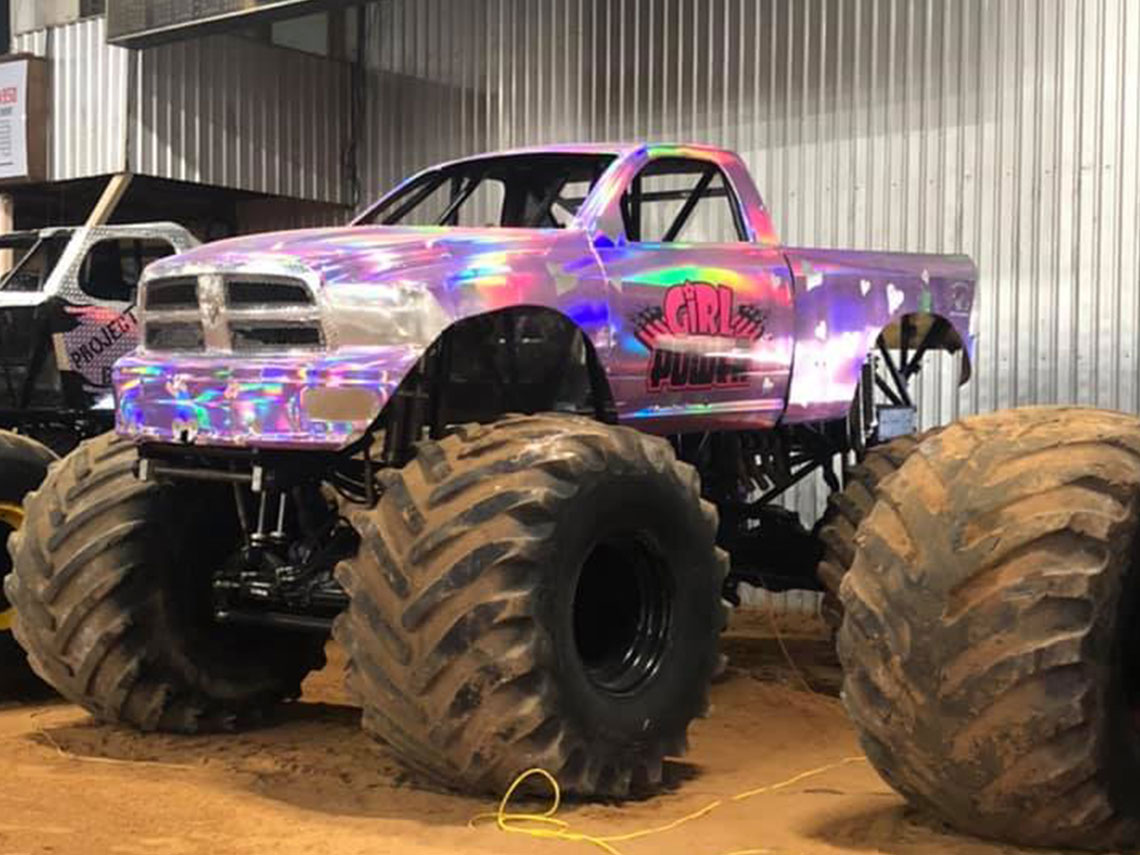 Monster Trucks At Hardy Murphy Coliseum Chickasaw Country
