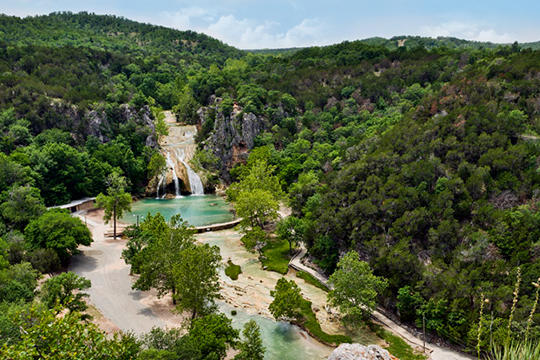 Arbuckle Mountains Chickasaw Country