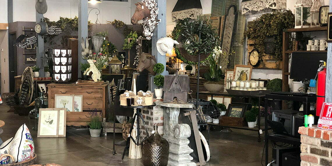 Interior items of Murray on Main in Ardmore, Oklahoma