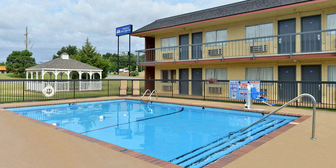 America's Best Value Inn Pool in Chickasha, Oklahoma