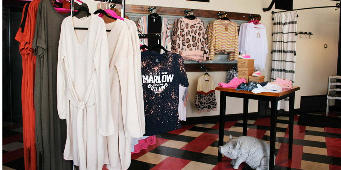 Pink Rebel Clothing Co In Marlow Chickasaw Country