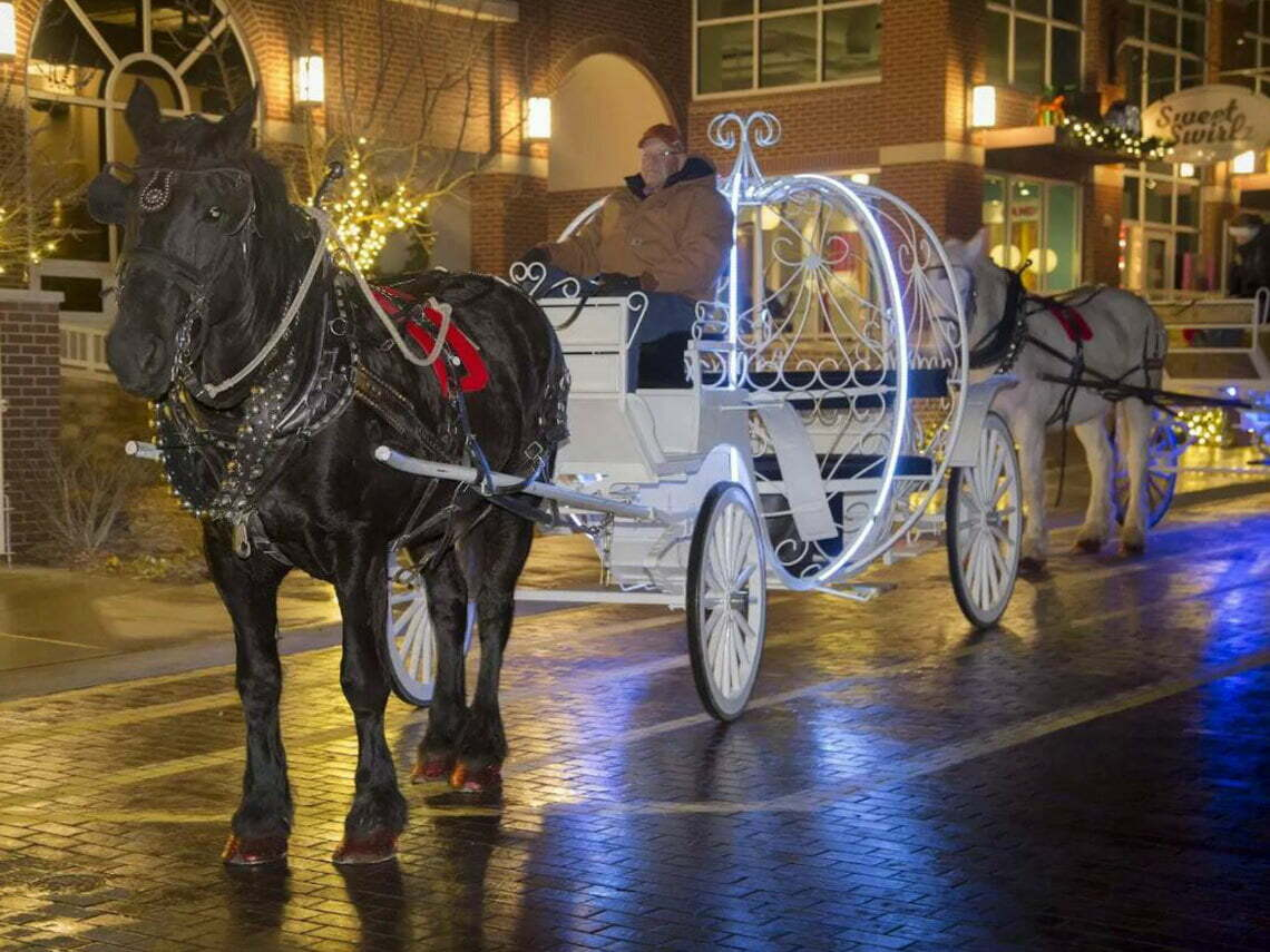 Carriage Rides at The Artesian in Sulphur - Chickasaw Country
