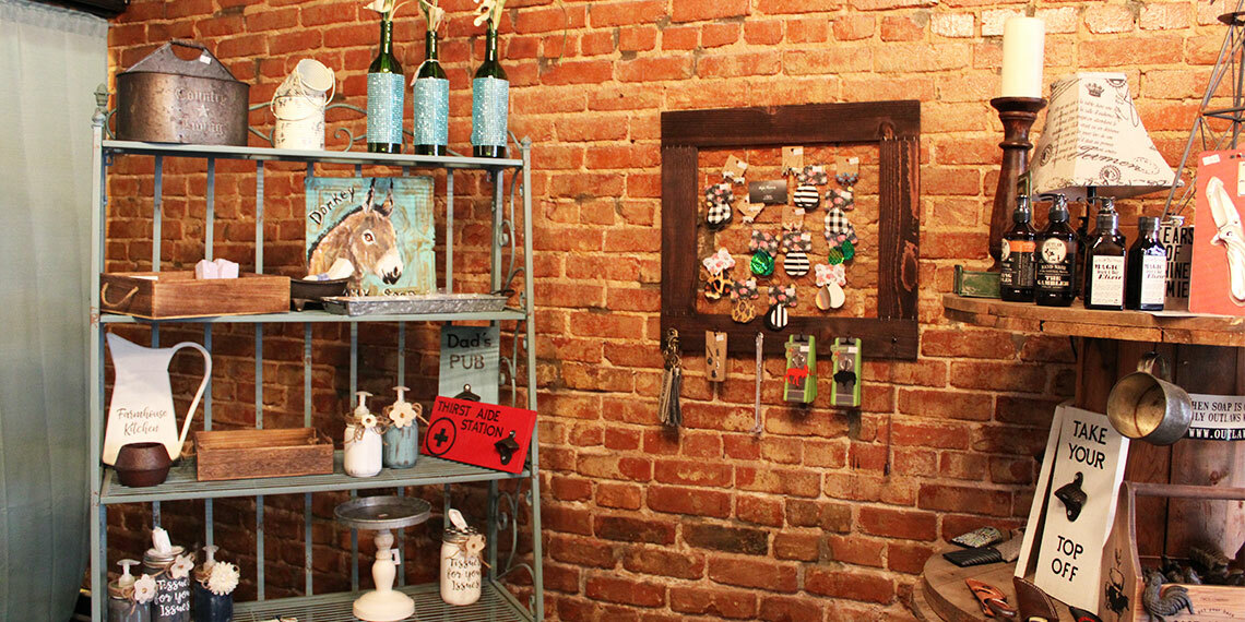 Crafts at Wanderlust Mercantile in Purcell, Oklahoma
