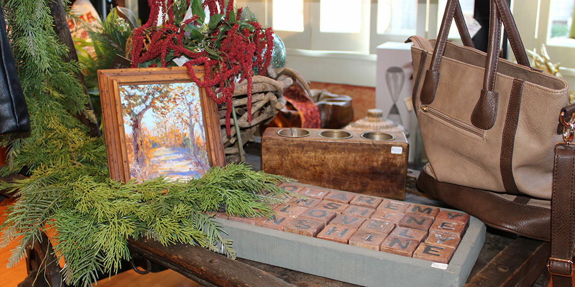 Picture and Purse at Maria's Garden in Ardmore, Oklahoma