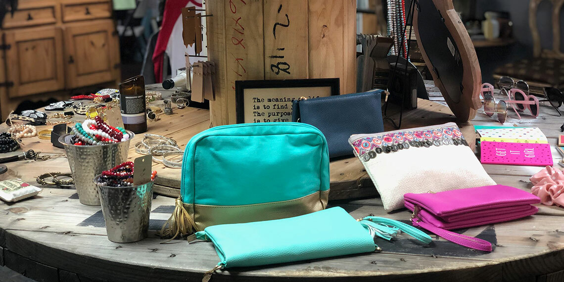 Purses at Chigley and Co in Davis, Oklahoma