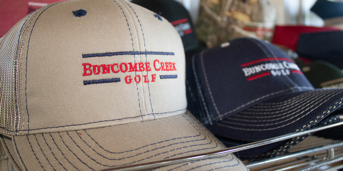 Hat Merchandise at Buncombe Creek Golf Course in Kingston, Oklahoma
