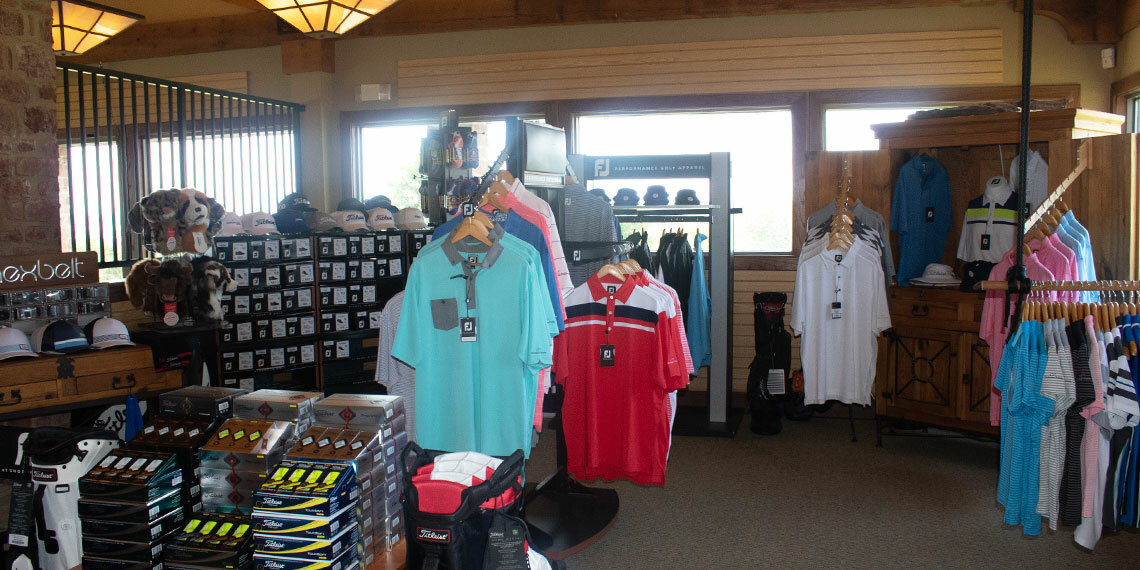 Clubhouse Store at Chickasaw Pointe Golf Club in Kingston, Oklahoma
