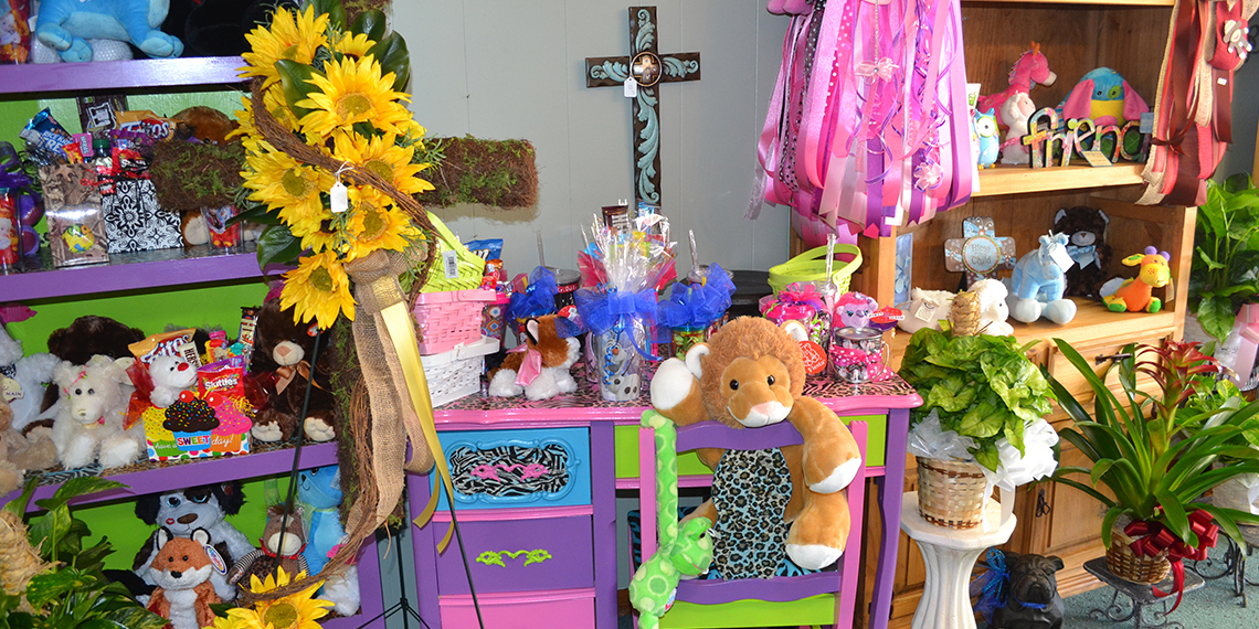 Kids toys at Blondell's Flowers and Gifts in Wilson, Oklahoma