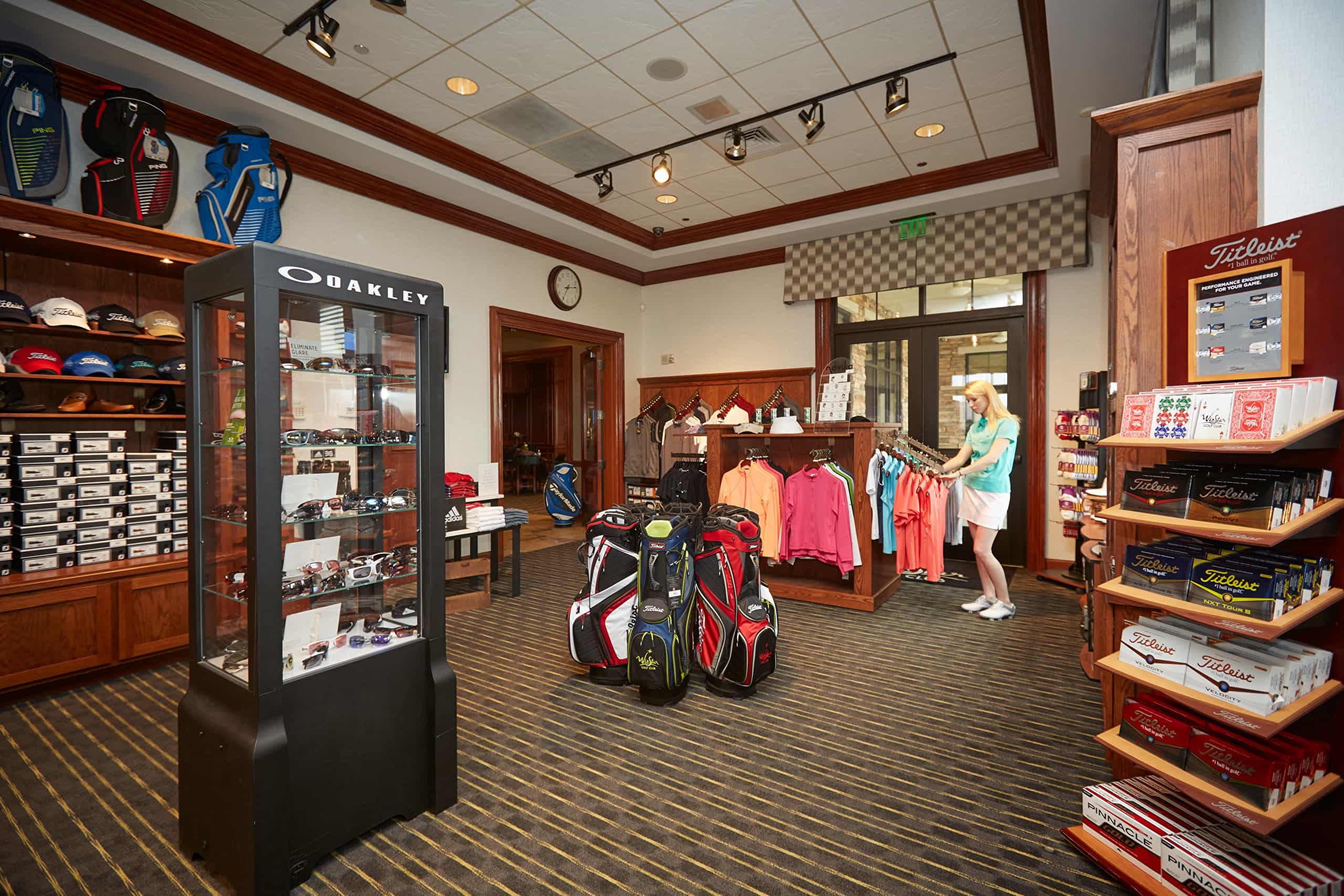 Pro Shop at Winstar Golf Course in Thackerville, Oklahoma