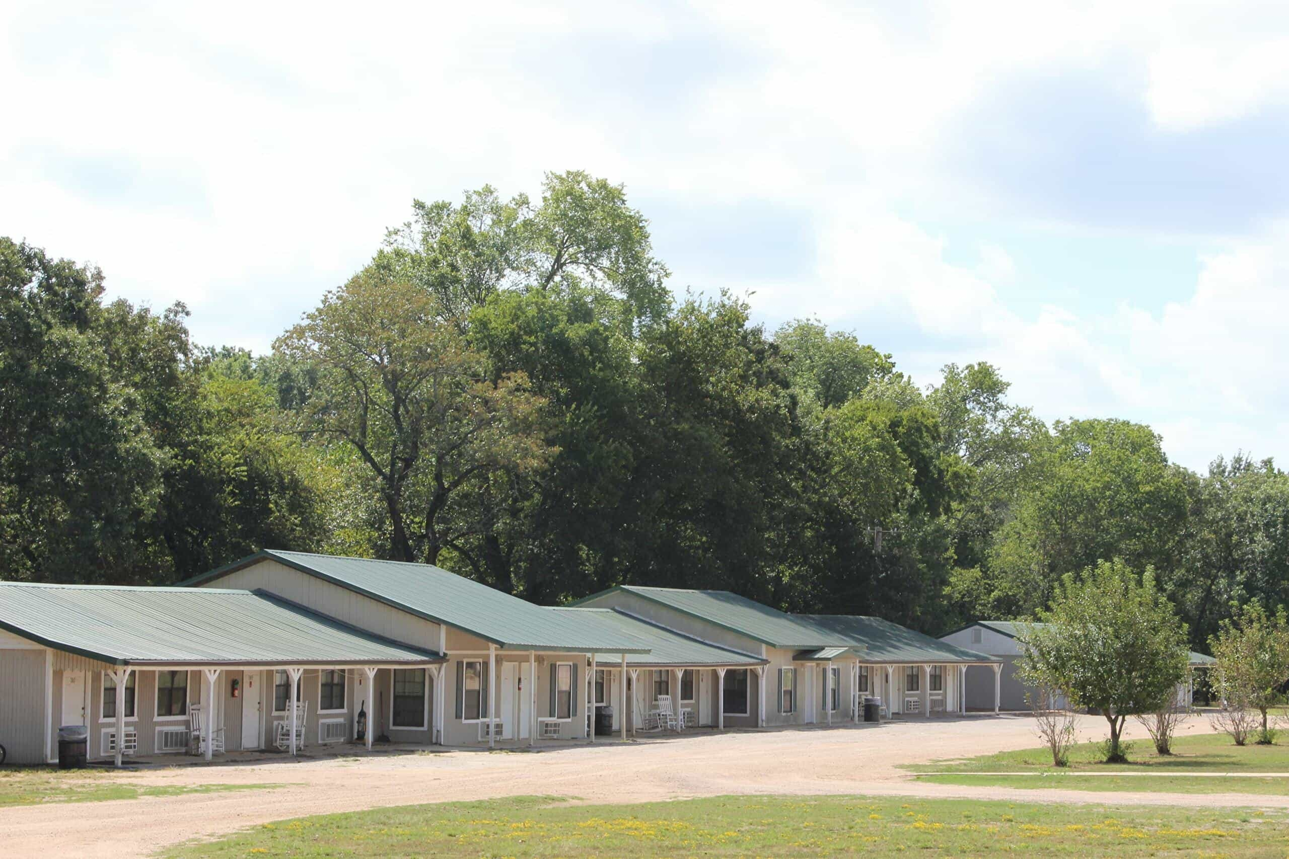 Lodging at Camp Bond in Tishomingo, Oklahoma