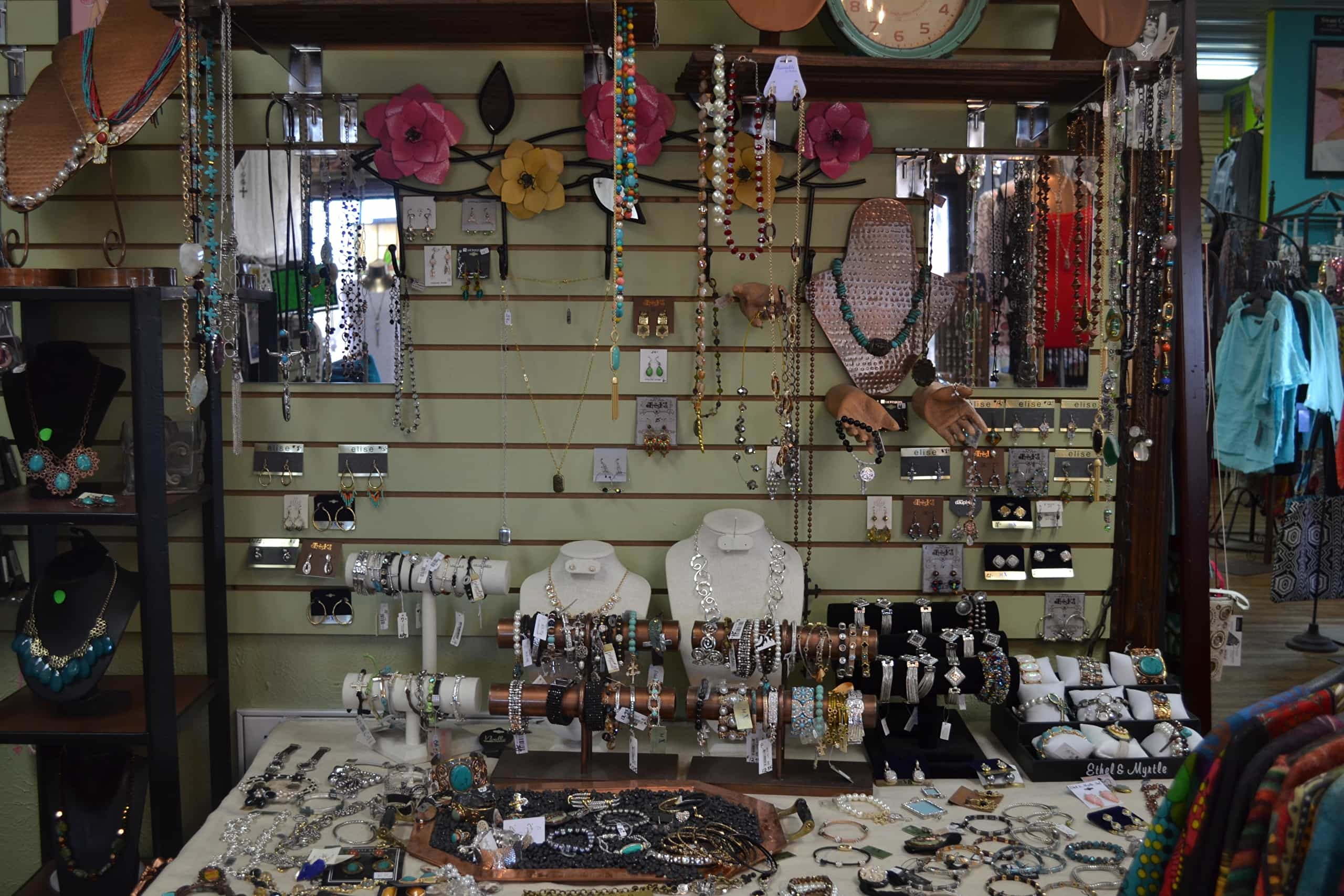 Jewelry at The Legacy Boutique and Gifts in Lone Grove, Oklahoma