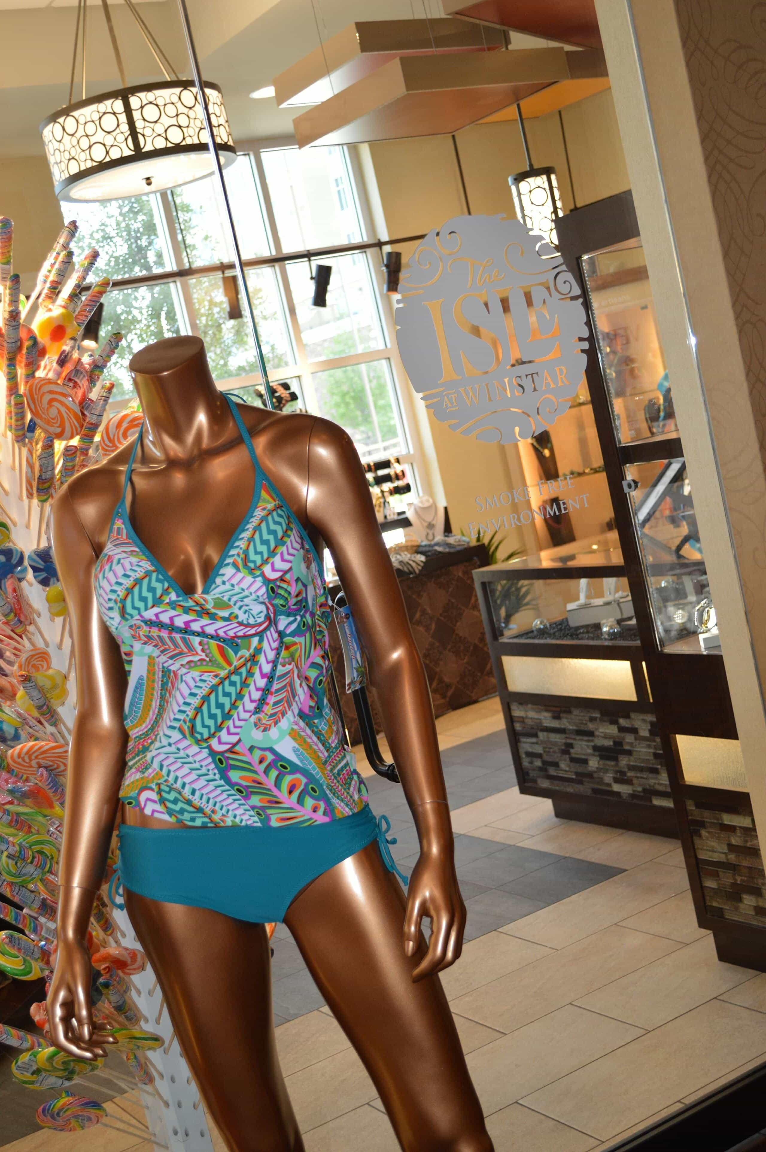 Swimsuit at the Isle at Winstar World Casino and Resort in Thackerville, Oklahoma