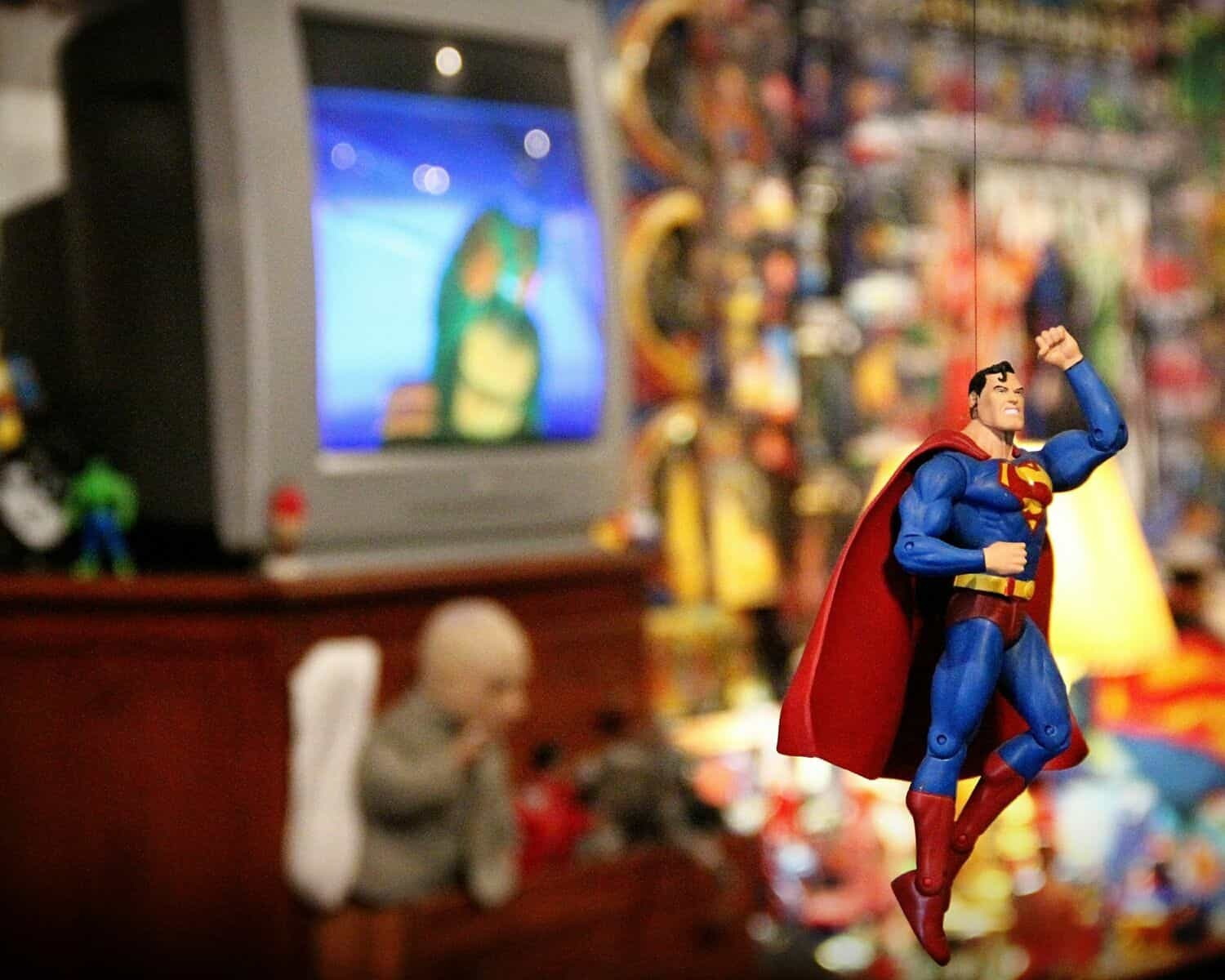 Superman at the Toy and Action Figure Museum in Pauls Valley, Oklahoma
