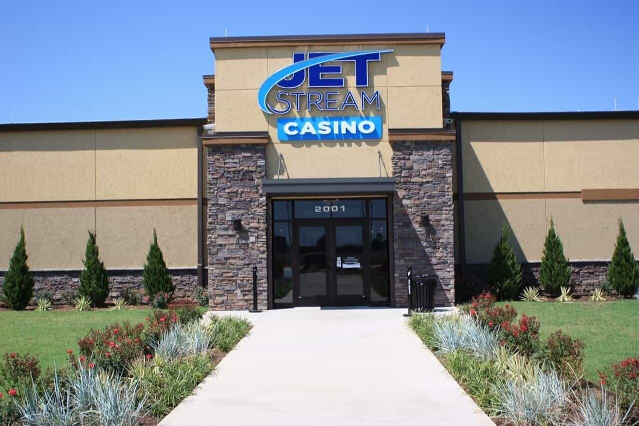Jet Stream Casino front entrance
