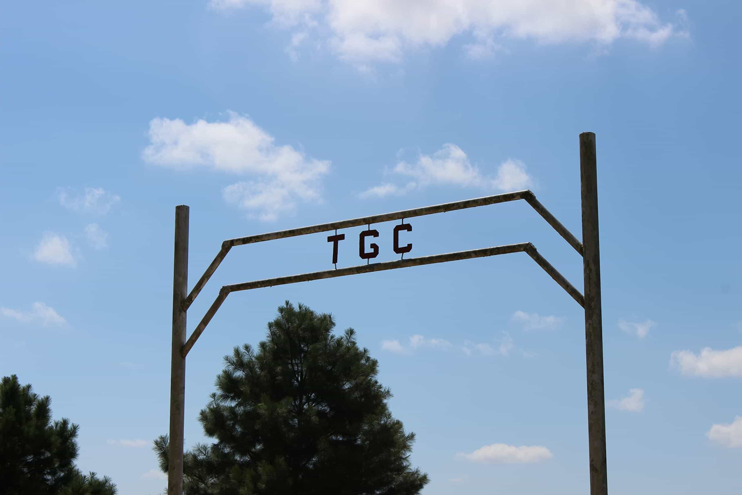 Entrance to the Tishomingo Golf Course