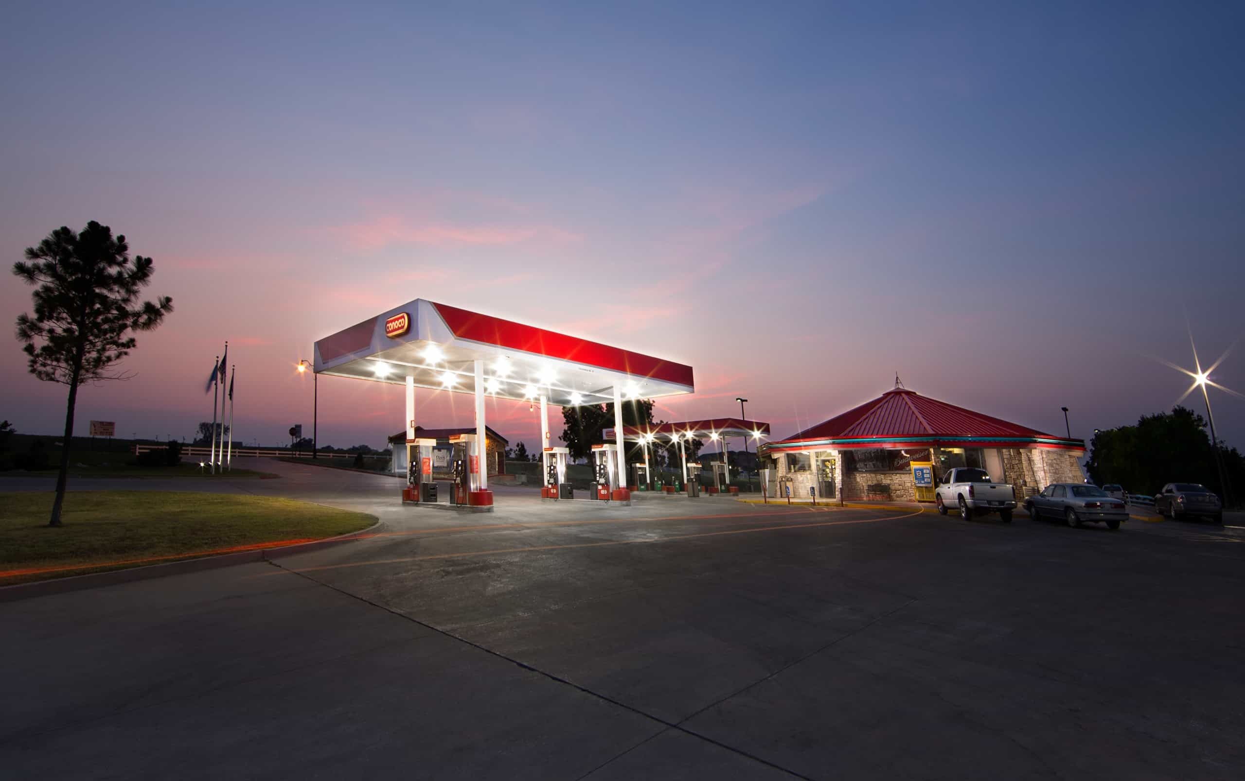 Chickasaw Travel Stop in Davis, Oklahoma