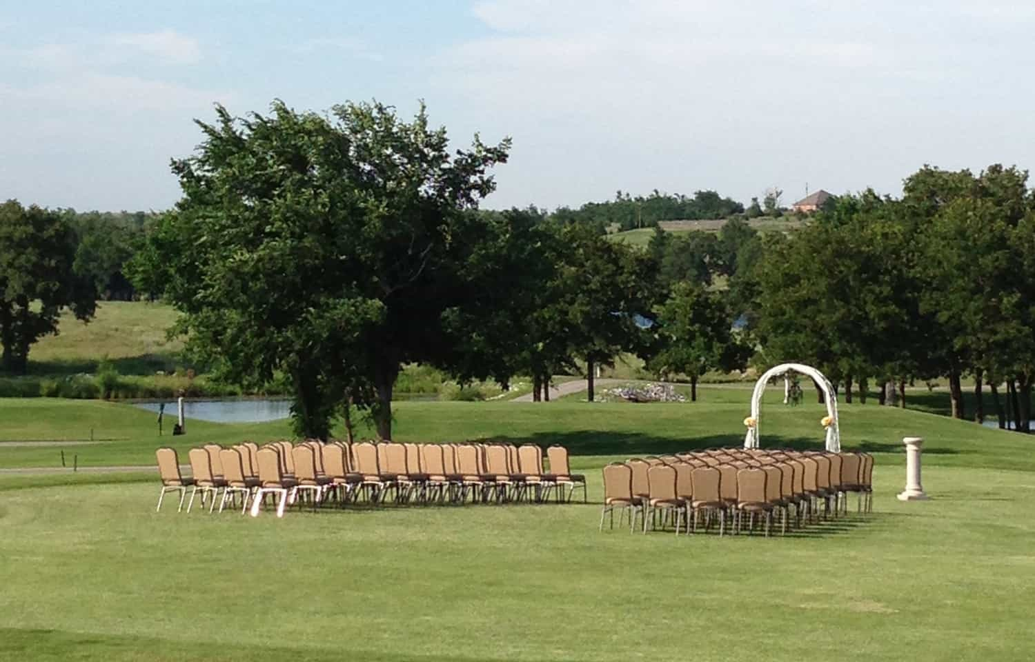 Wedding at Winter Creek Golf Course and Country Club