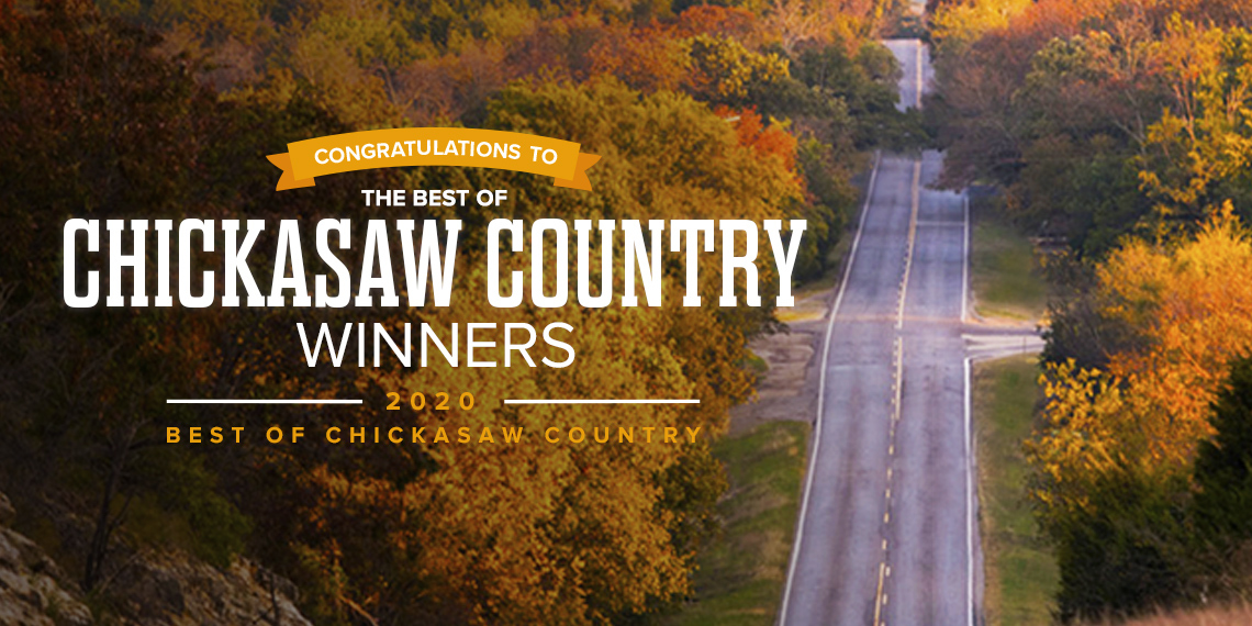 banner for best of chickasaw country