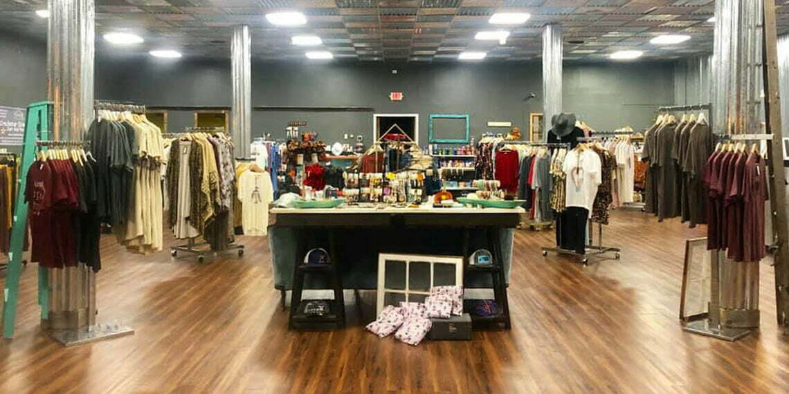 inside the southern blossom boutique in chickasha oklahoma