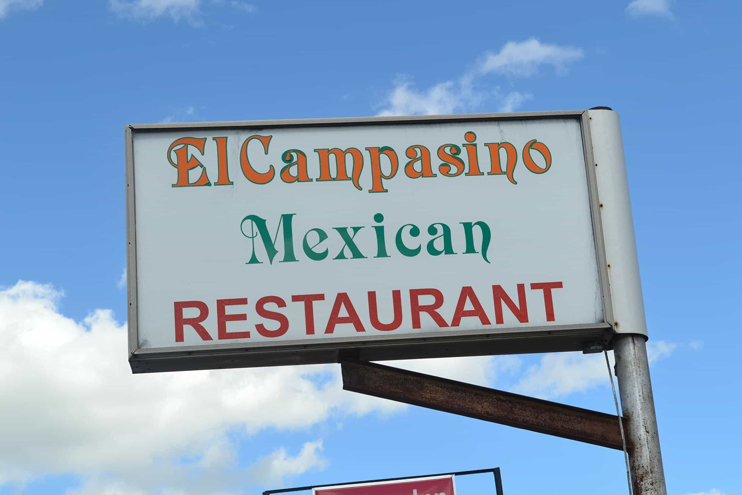 sign for el campesino in marlow oklahoma