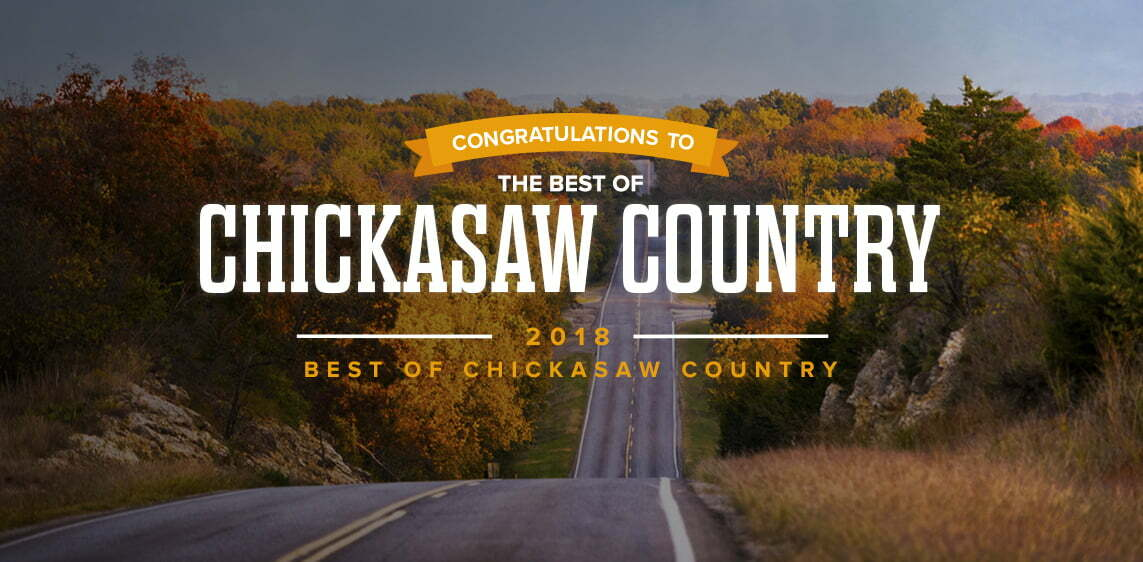 best of chickasaw country logo