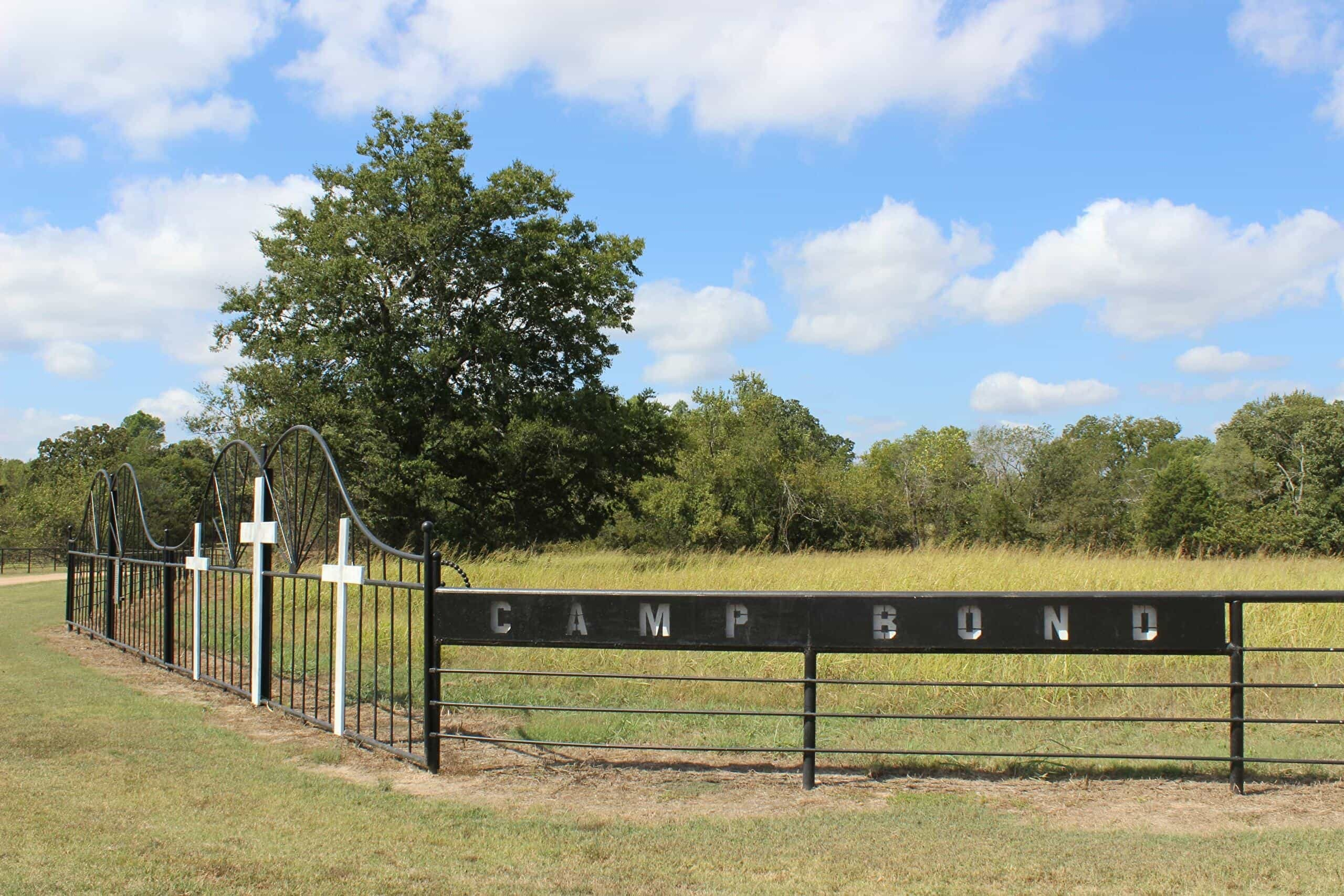 sign for camp bond in tishomingo oklahoma