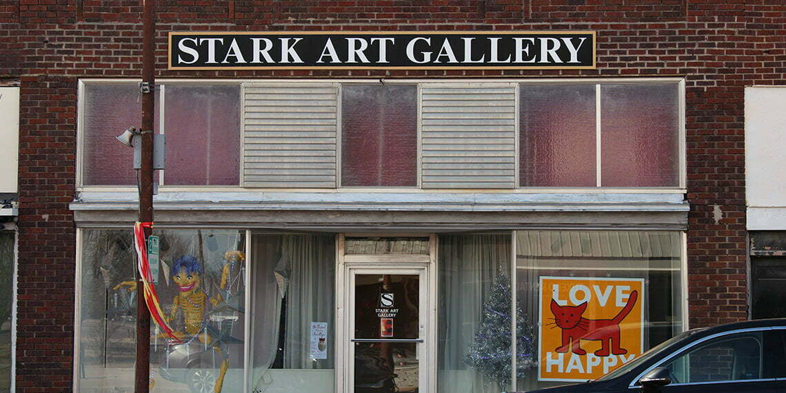 stark art gallery exterior in chickasaw country