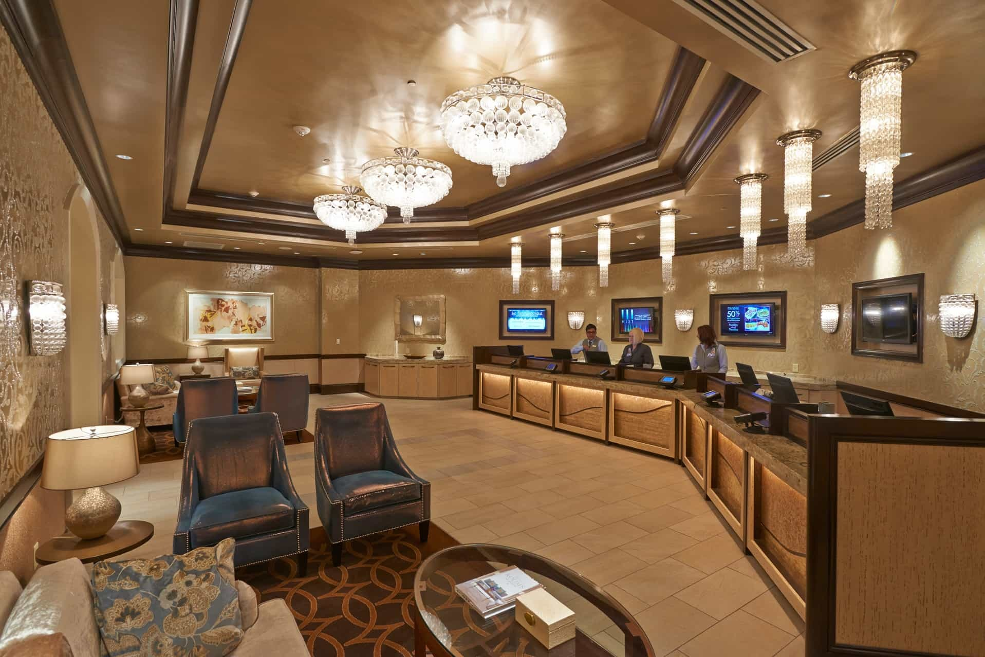 interior of the winstar