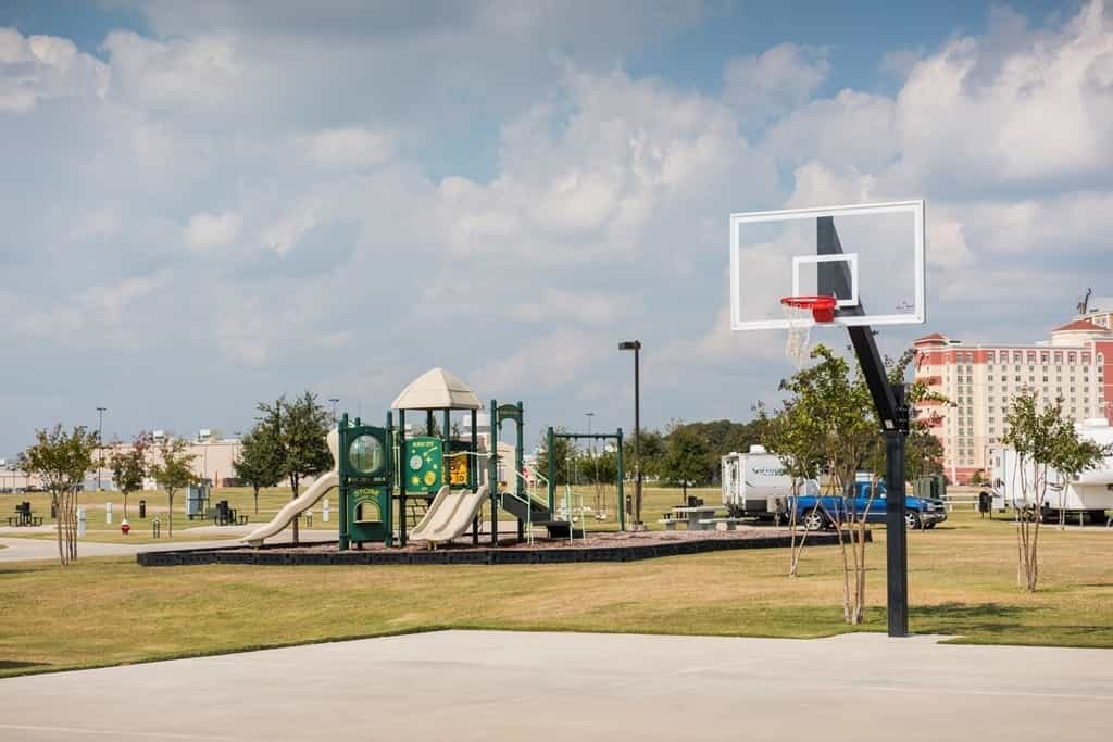 playground at the winstar rv park