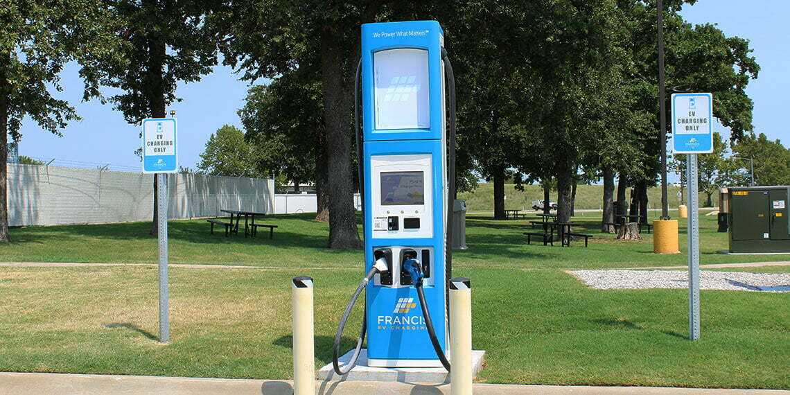 EV Charging Station at Thackerville CTS