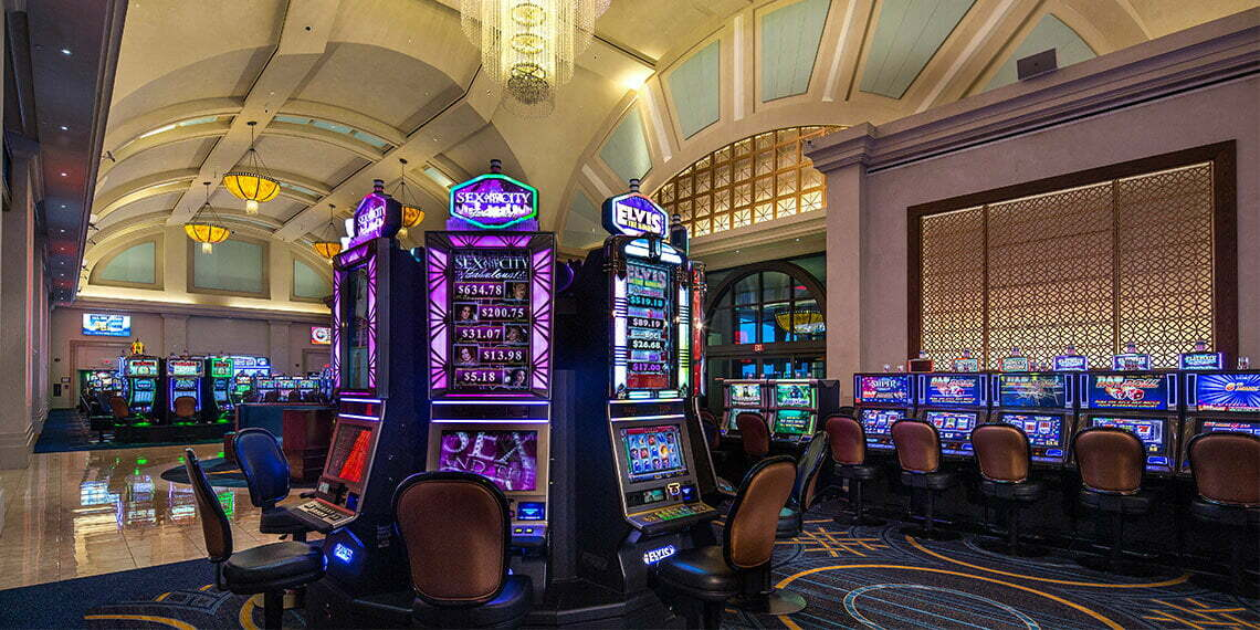 Electronic games at Winstar World Casino and Resort in Thackerville, Oklahoma