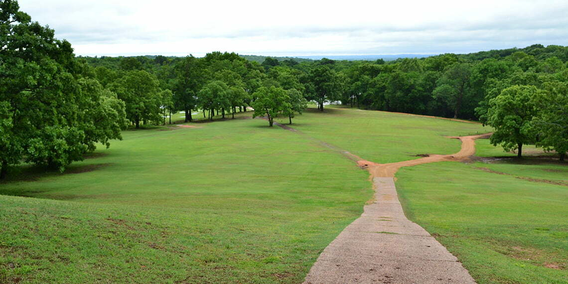 view of lakewood golf course in ada oklahoma